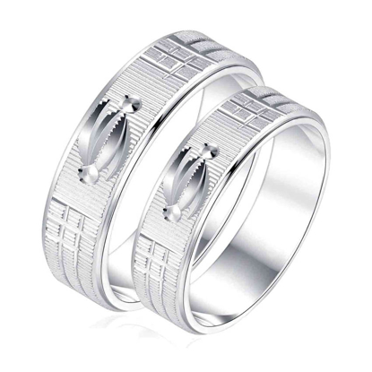 Picture of 925 Silver, Couple Ring- CS-043