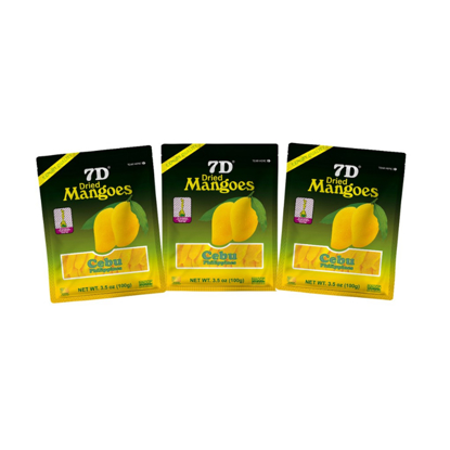Picture of 7D Dried Mangoes (100g) ,Cebu Dry mangoes,Pack of 3
