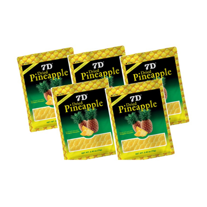 Picture of 7D Dried Pineapple (70g) Pack of 5Pcs